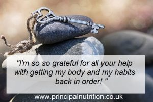Nutritional Therapy Client Feedback